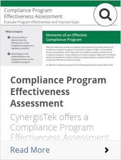 Compliance Program Effectiveness Assessment