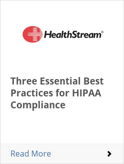 Three Essential Best Practices for HIPAA Compliance