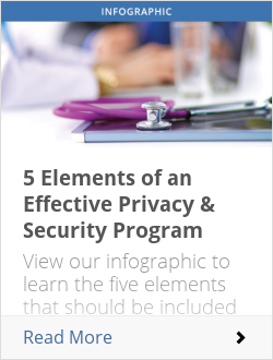 5 Elements of an Effective Privacy & Security Program