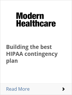 Building the best HIPAA contingency plan