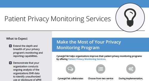 Patient Privacy Monitoring Services