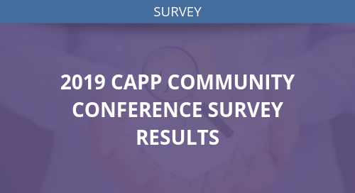 CAPP Conference Survey Results