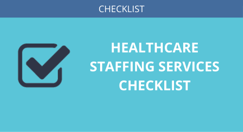 Healthcare Staffing Checklist