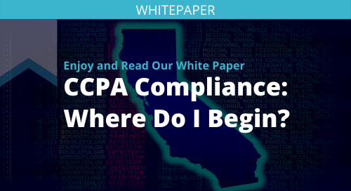 CCPA Compliance: Where Do I Begin?