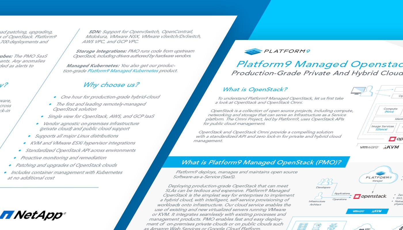 Platform9 Managed OpenStack