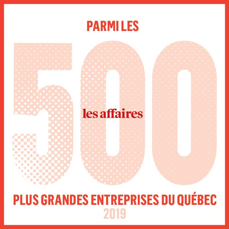Journal les Affaires - Genetec parmi les plus grandes entreprises du Québec 2019