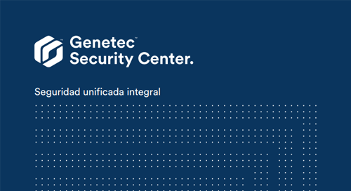Plataforma unificada de seguridad Security Center