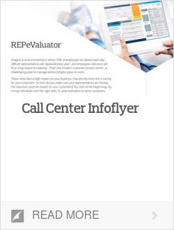 Call Center Infoflyer