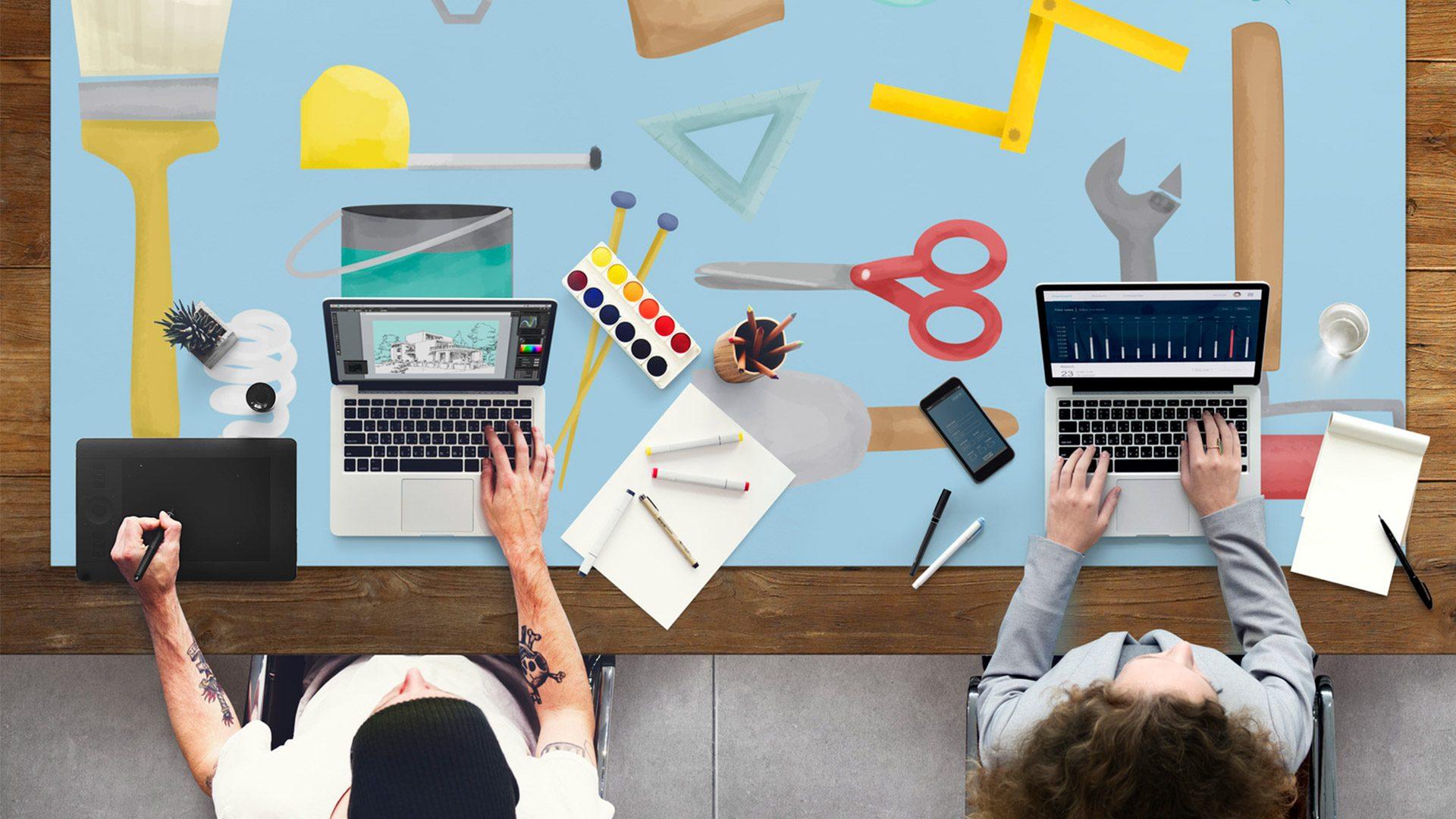 Creative desk