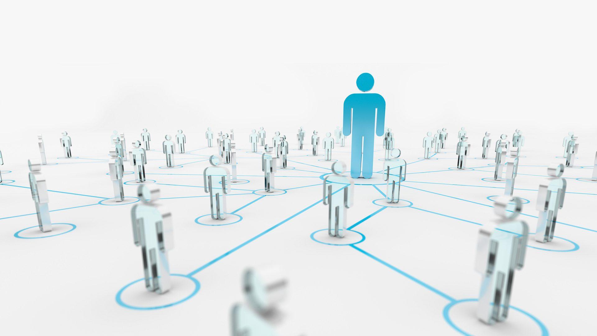 image brokers between groups