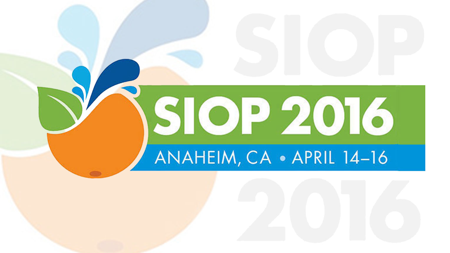 conference logo SIOP 2016