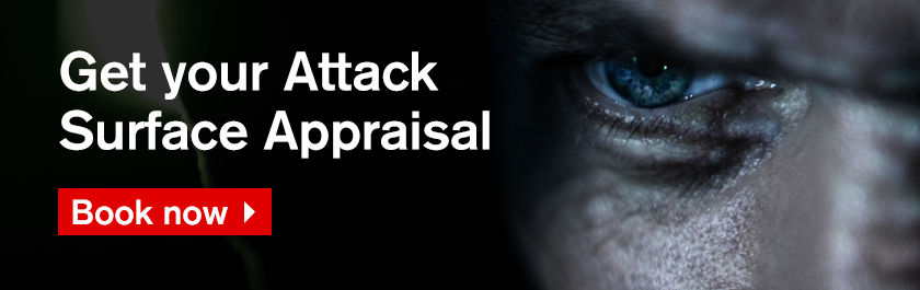 Get Your Attack Surface Appraisal - Book now