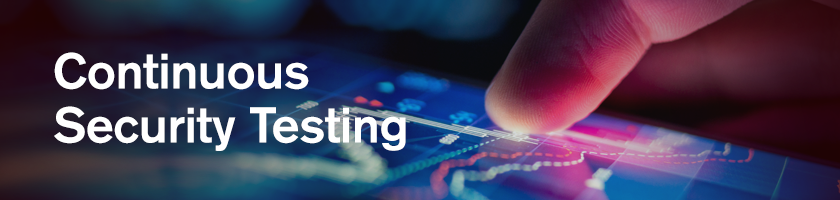 Continuous Security Testing - Getting a handle on your growing application estate