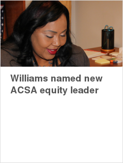 Williams named new ACSA equity leader