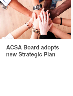 ACSA Board adopts new Strategic Plan