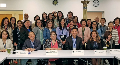 ACSA's Asian American and Pacific Islander equity network held a meeting recently in San Francisco.