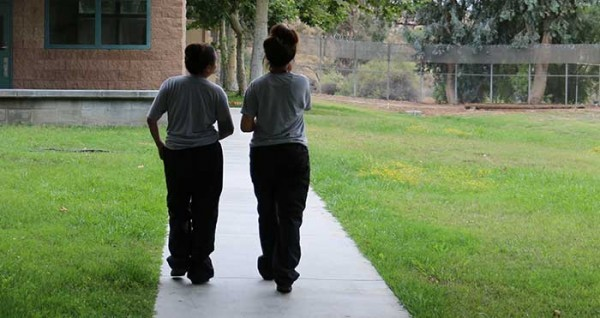 Girls headed back to the classroom