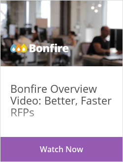 Bonfire - Better, Faster RFPs & Bids
