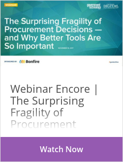 The Surprising Fragility of Procurement Decisions