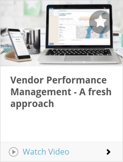 Vendor Performance Management - A fresh approach
