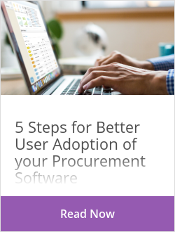 5 Steps for Better User Adoption of your Procurement Software