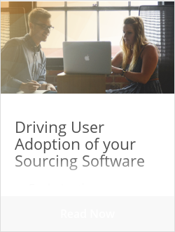 Driving User Adoption of your Sourcing Software