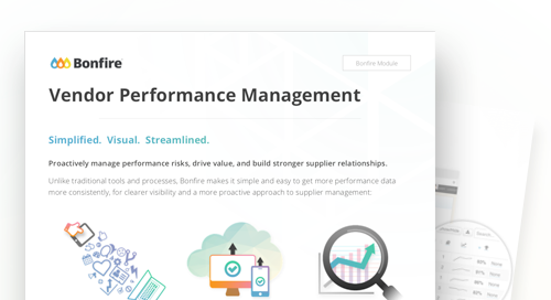 Data Sheet: Vendor Performance Management