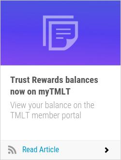 Trust Rewards balances now on myTMLT
