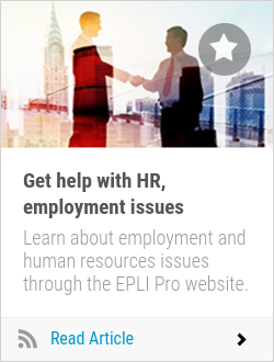 Get help with HR, employment issues