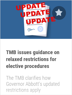 TMB issues guidance on relaxed restrictions for elective procedures