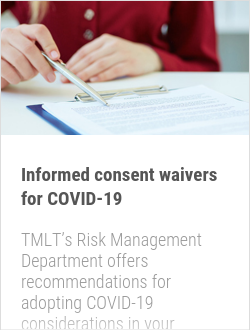 Informed consent waivers for COVID-19
