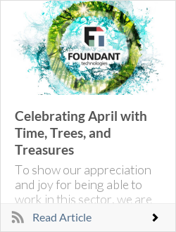 Celebrating April with Time, Trees, and Treasures