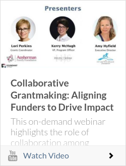 Collaborative Grantmaking: Aligning Funders to Drive Impact