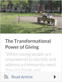 The Transformational Power of Giving