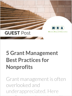 5 Grant Management Best Practices for Nonprofits