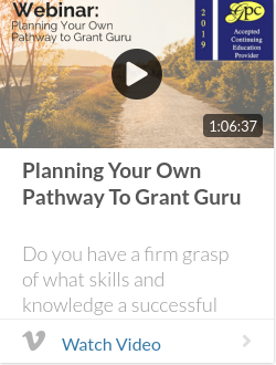 Planning Your Own Pathway to Grant Guru