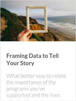 Framing Data to Tell Your Story