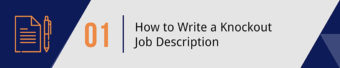 How To Write a Knockout Job Description