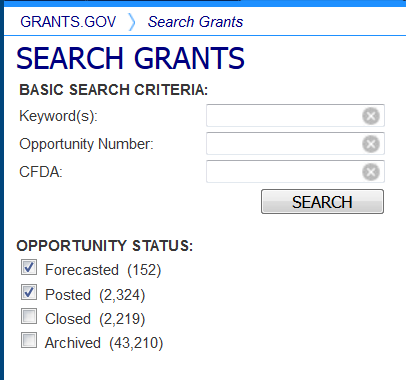 Search Grants