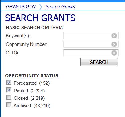 Search Grants