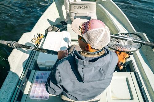 Oar, Man, Back Fishing