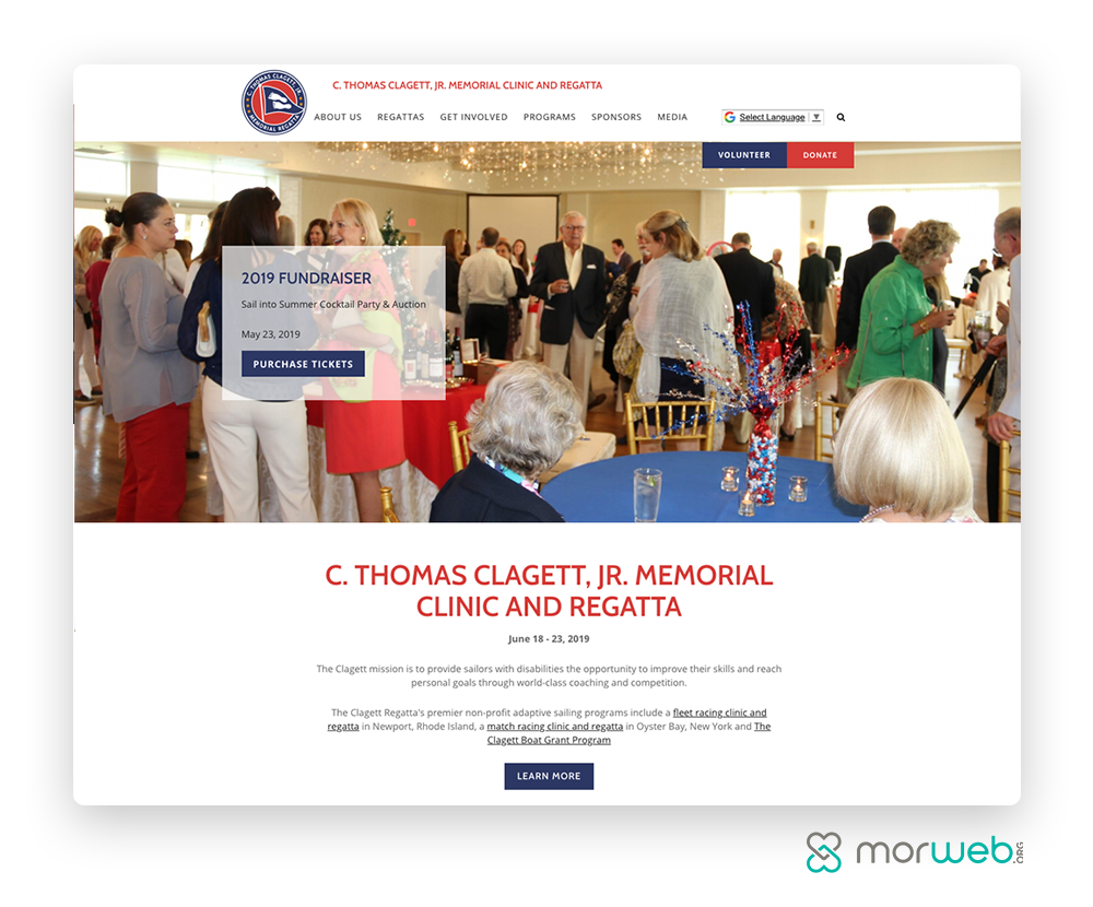 C. Thomas Clagett, Jr. Memorial Clinic and Regatta Fundraising Page