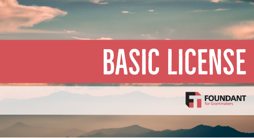 Foundant Basic License