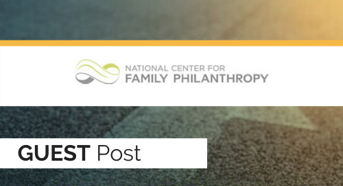 Leadership in Difficult Times: Guidance for Donors and Giving Families