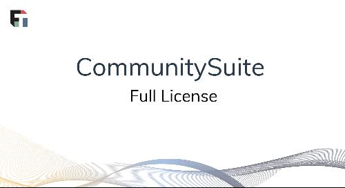 CommunitySuite Full License