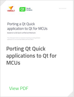 Porting Qt Quick applications to Qt for MCUs