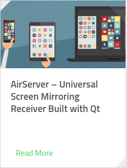 AirServer – Universal Screen Mirroring Receiver Built with Qt