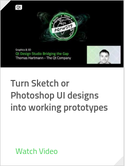 Turn Sketch or Photoshop UI designs into working prototypes