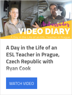 A Day in the Life of an ESL Teacher in Prague, Czech Republic with Ryan Cook