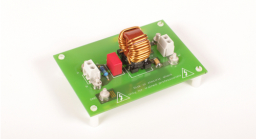 Filter circuit for a power supply